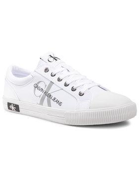 Calvin Klein Jeans Calvin Klein Jeans Trampki Vulcanized Sneaker YM0YM00015 Biały