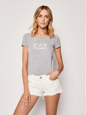 EA7 Emporio Armani EA7 Emporio Armani T-Shirt 8NTT63 TJ12Z 3905 Grau Slim Fit