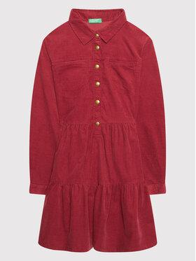 United Colors Of Benetton United Colors Of Benetton Φόρεμα καθημερινό 4AD35VGP0 Ροζ Regular Fit