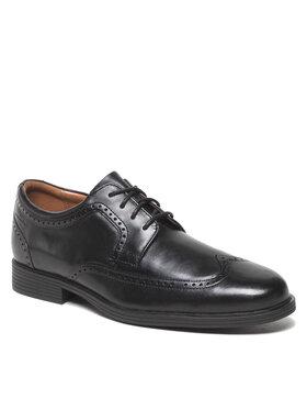 Clarks Clarks Обувки Whiddon Wing 261580097 Черен
