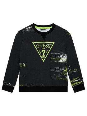 Guess Guess Bluza L1YQ05 KA6R0 Czarny Regular Fit