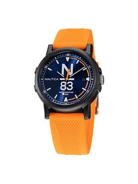 Nautica Nautica Laikrodis N83 Es Pujols NAPEPS103 Oranžinė