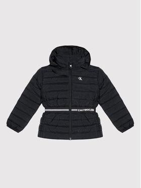 Calvin Klein Jeans Calvin Klein Jeans Пухено яке Intrasia Logo IG0IG01020 Черен Regular Fit
