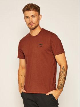 Edwin Edwin T-shirt I026690 TH16J94 AUB67 Marrone Regular Fit