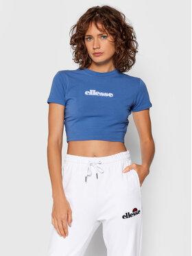 Ellesse Ellesse T-Shirt Siderea Crop SGK09623 Blau Regular Fit