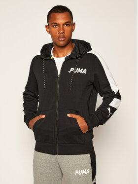 Puma Puma Pulóver Modern Sports Fz Hoodie Fl 583482 Fekete Regular Fit