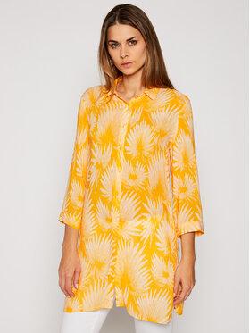 Chantelle Chantelle Plážové šaty Bamboo C17C60 Žlutá Regular Fit
