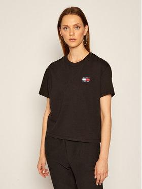 Tommy Jeans Tommy Jeans T-Shirt Tjw Badge Tee DW0DW06813 Černá Regular Fit