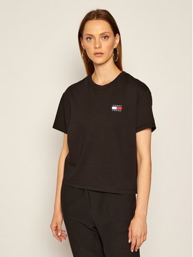Tommy Jeans Tommy Jeans T-Shirt Tjw Badge Tee DW0DW06813 Czarny Regular Fit
