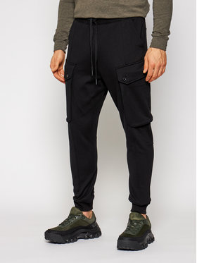 G-Star RAW G-Star RAW Παντελόνι φόρμας Droner Cargo D18247-A613-6484 Μαύρο Relaxed Fit
