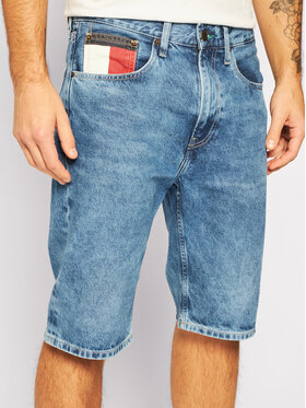 Tommy Jeans Tommy Jeans Pantaloncini di jeans Rey DM0DM08049 Blu Regular Fit