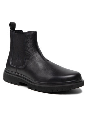 Calvin Klein Jeans Calvin Klein Jeans Sztyblety Lug Mid Chelsea Boot YM0YM00239 Czarny