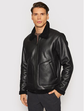 Only & Sons Only & Sons Giacca in similpelle Ben 22017755 Nero Regular Fit