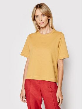 Marc O'Polo Marc O'Polo T-Shirt 104 4035 54083 Żółty Regular Fit