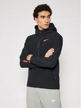 Nike Nike Bluza techniczna Pro 1/4-Zip Hoodie CZ1510 Czarny Standard Fit