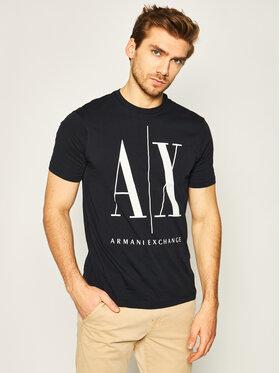 Armani Exchange Armani Exchange T-Shirt 8NZTPA ZJH4Z 1510 Tmavomodrá Regular Fit