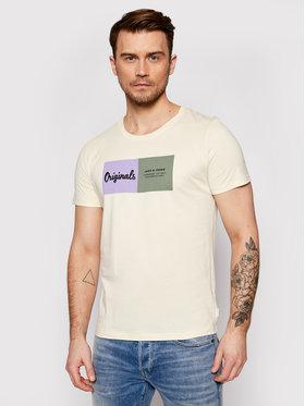 Jack&Jones Jack&Jones T-Shirt Joshua 12185595 Κίτρινο Regular Fit