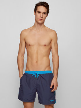 Boss Boss Pantaloncini da bagno Starfish 50408104 Blu scuro Regular Fit