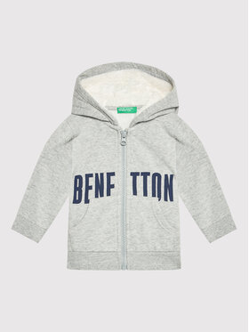 United Colors Of Benetton United Colors Of Benetton Mikina 3EB5C5997 Šedá Regular Fit