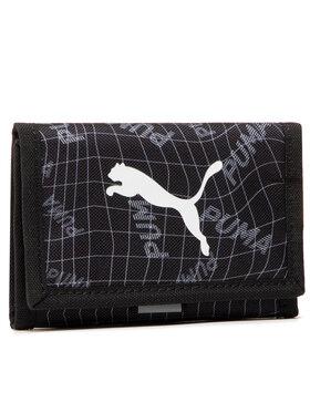 Puma Puma Голям мъжки портфейл Beta Wallet 077299 05 Черен