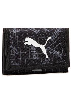 Puma Puma Nagyméretű férfi pénztárca Beta Wallet 077299 05 Fekete