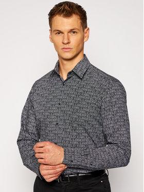 KARL LAGERFELD KARL LAGERFELD Marškiniai 605000 502688 Juoda Modern Fit