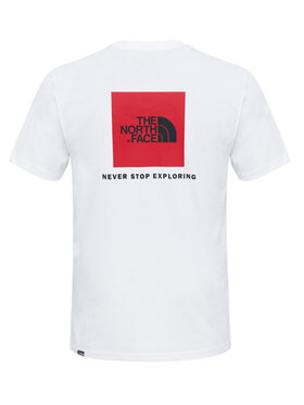 The North Face The North Face T-Shirt Redbox NF0A2TX2FN4 Λευκό Regular Fit