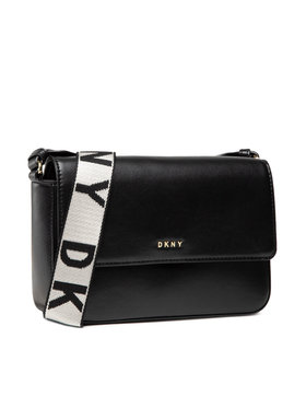 DKNY DKNY Handtasche Winonna Md Flap Cbod R12EKM63 Schwarz