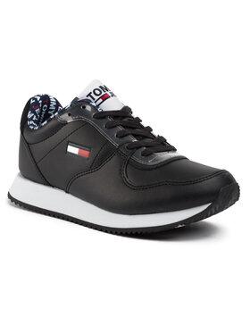 Tommy Jeans Tommy Jeans Сникърси Wmns Casual Tommy Jeans Sneaker EN0EN00719 Черен