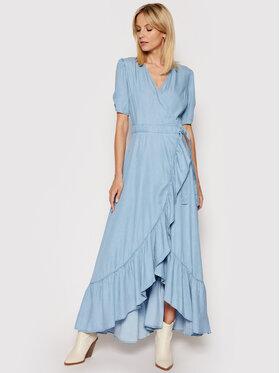 Guess Guess Sukienka codzienna W1GK71 D4D22 Niebieski Regular Fit