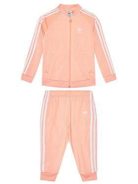 adidas adidas Dres adicolor Sst GN8440 Pomarańczowy Regular Fit