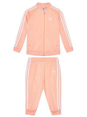 adidas adidas Tepláková souprava adicolor Sst GN8440 Oranžová Regular Fit