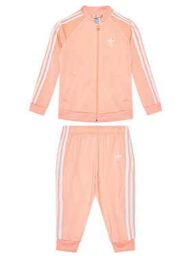adidas adidas Tepláková súprava adicolor Sst GN8440 Oranžová Regular Fit