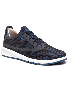 Geox Geox Sneakersy U Aerantis D U047FD 0002A C4000 Granatowy