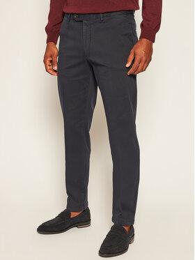 Oscar Jacobson Oscar Jacobson Spodnie materiałowe Danwick 5176 4305 Granatowy Slim Fit