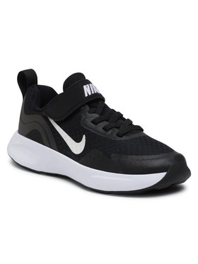 NIKE NIKE Pantofi Wearallday (PS) CJ3817 002 Negru
