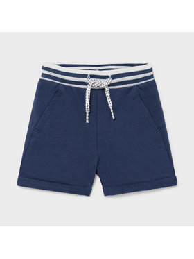 Mayoral Mayoral Short en tissu 1212 Bleu marine Regular Fit