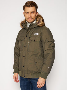 The North Face The North Face Зимно яке Gotham NF0A4M8F21L Зелен Regular Fit