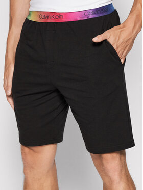 Calvin Klein Underwear Calvin Klein Underwear Szorty sportowe 000NM2058E Czarny Regular Fit
