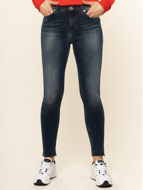 Tommy Jeans Tommy Jeans Jeans Nora Mid Rise DW0DW074991 Dunkelblau Skinny Fit