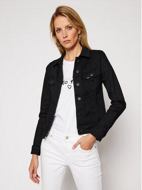 Lee Lee Kurtka jeansowa Rider L541PI47 Czarny Slim Fit