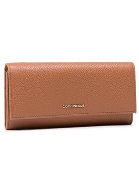 Coccinelle Coccinelle Velká dámská peněženka HW5 Metallic Soft E2 HW5 11 03 01 Hnědá
