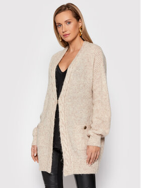 Marciano Guess Marciano Guess Cardigan Crystal 1BGR35 5664Z Beige Regular Fit