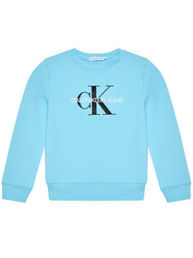 Calvin Klein Jeans Calvin Klein Jeans Džemperis Monogram Logo IU0IU00069 Mėlyna Regular Fit