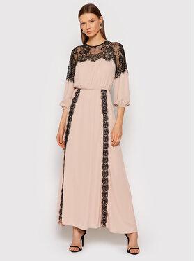 Rinascimento Rinascimento Večerné šaty CFC0104845003 Ružová Regular Fit