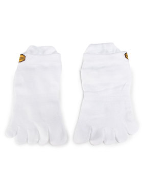 Vibram Fivefingers Vibram Fivefingers Nízké ponožky Unisex Athletic No Show S15N01 Bílá