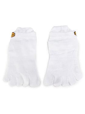 Vibram Fivefingers Vibram Fivefingers Ponožky Kotníkové Unisex Athletic No Show S15N01 Biela