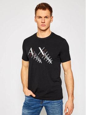 Armani Exchange Armani Exchange T-shirt 3KZTFA ZJE6Z 1200 Crna Slim Fit