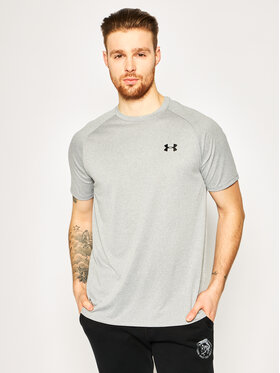 Under Armour Under Armour T-Shirt UA Tech 2.0 1326413 Γκρι Regular Fit