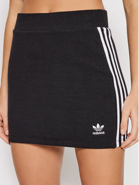 adidas adidas Jupe crayon adicolor Classics H38761 Noir Fitted Fit